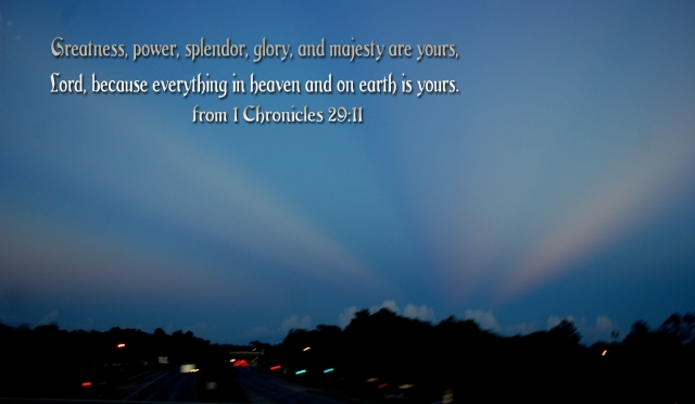 splendor glory