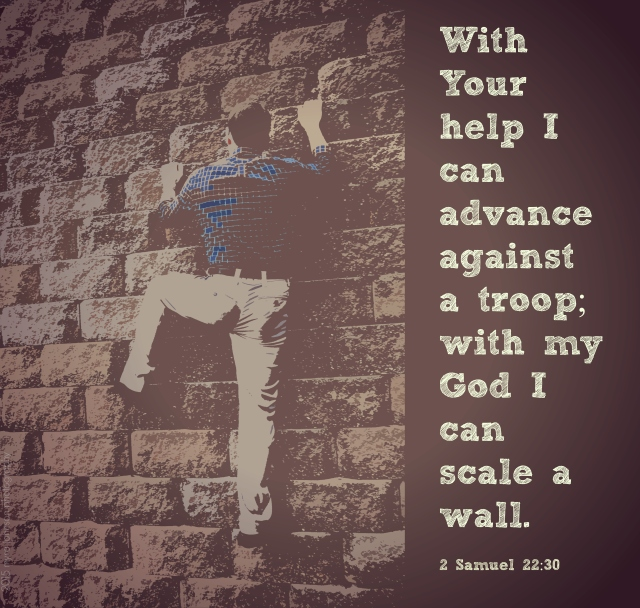 scale a wall